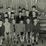 Beginners' band, band hall, 1961