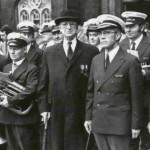 Band with President De Valera, 1973