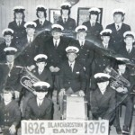 Full band in 1976, our 150th anniversary