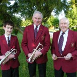 Three generations of Harfords, Roy, John & Mick, 2009